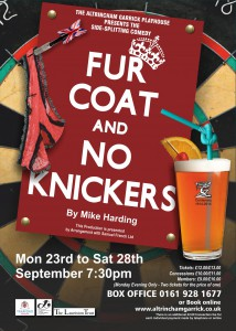 Fur Coat and No Knickers Poster