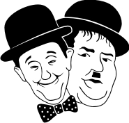 Laurel-and-Hardy-Plate-Design