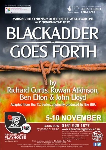 Blackadder Goes Forth Poster